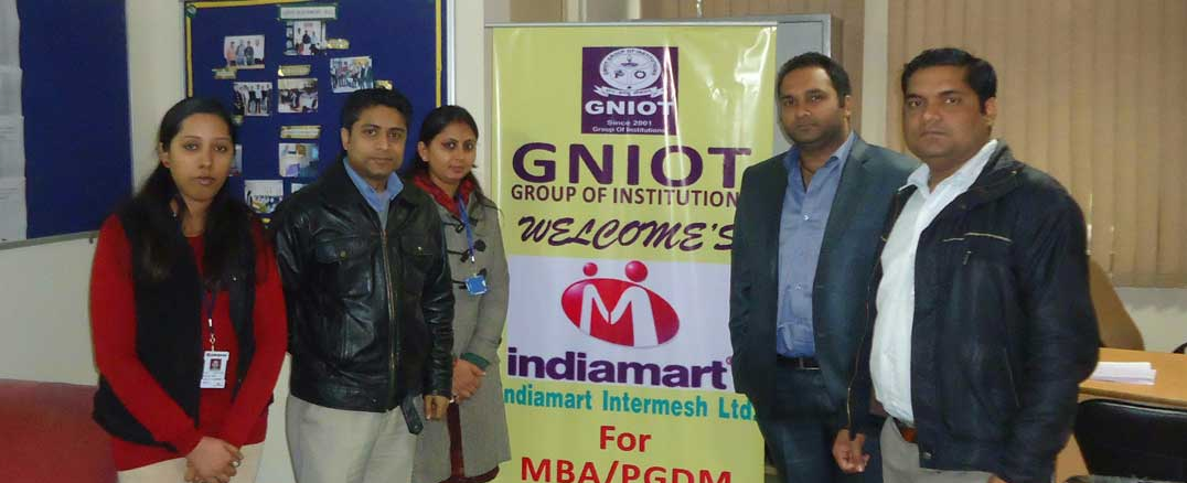 Recruiters At GNIOT